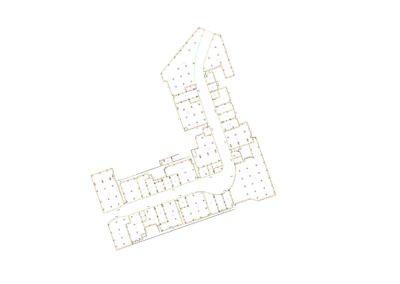 Crtez etaziranja Trzni centar Promenada - NEPI REALE ESTATE