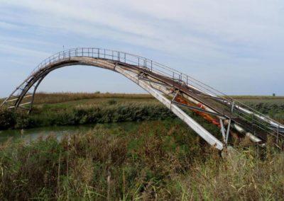 NIS-ov montažni most u Melencima