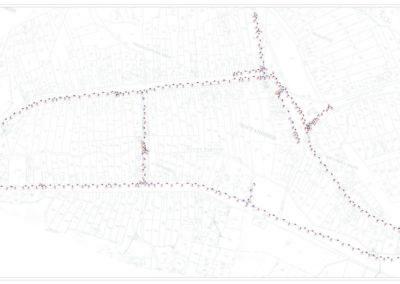 Snimanje vodovodne mreže u naselju Čortanovci